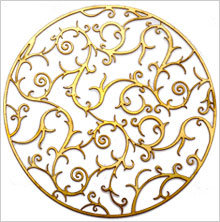 waterjet cutting decorative metal work
