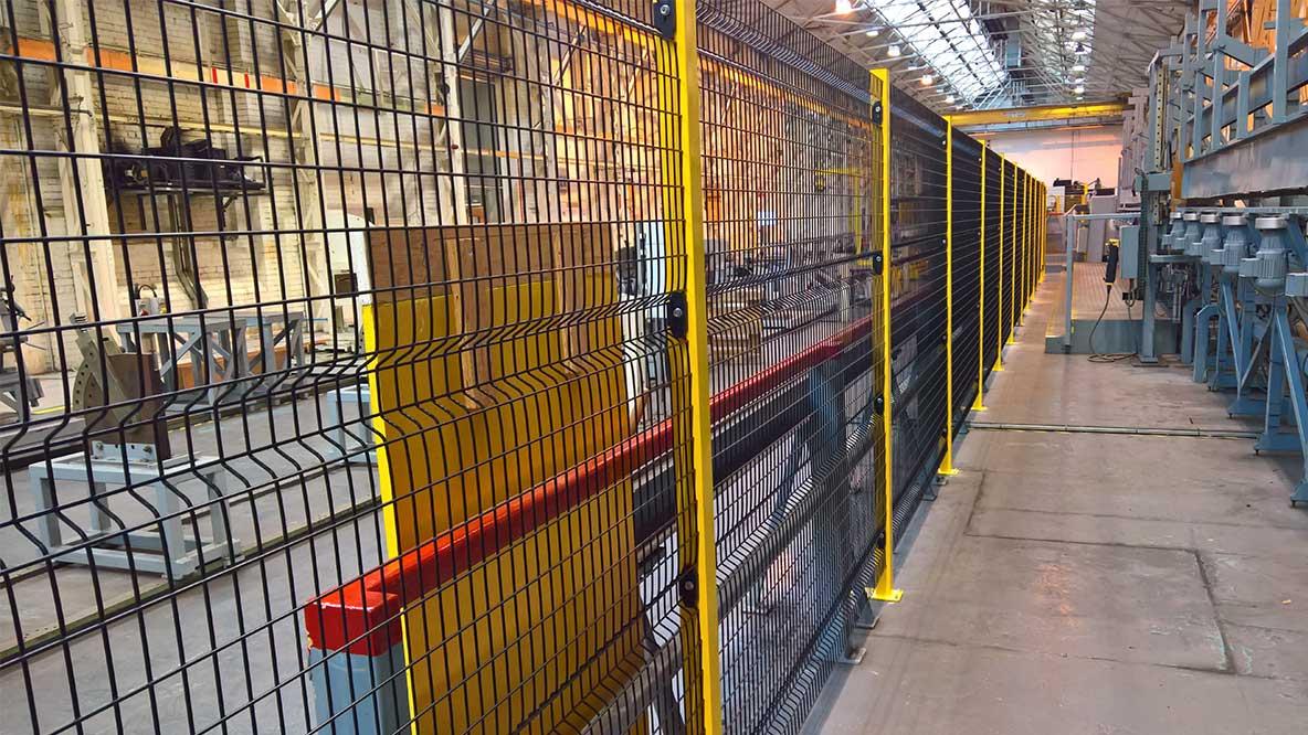 Perimeter Guarding Gallery Machine Covers