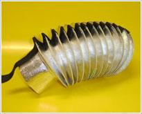 High temperature circular bellow
