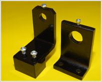 Reversible mounting brackets