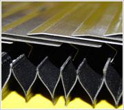 Armoured concertina cover