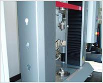 Tensile testing machine covers